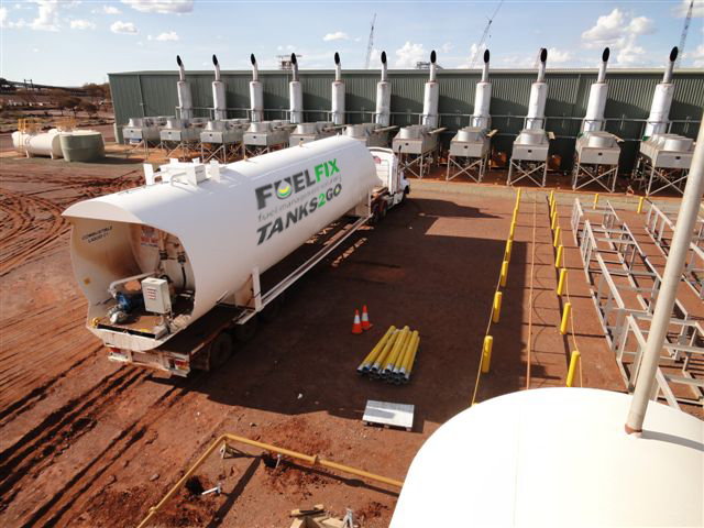 Fuel storage solution for Fortescue Metal Group