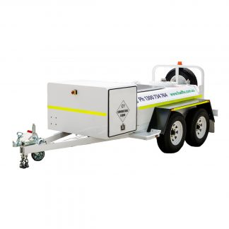 CENTERED - Fuelfix 1200lt Solar Powered Fuel Trailer