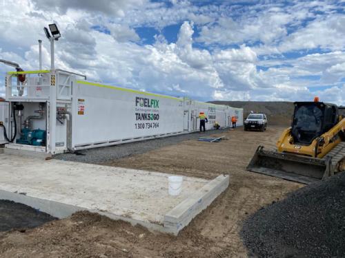 diesel storage and dispensing solution