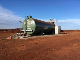 diesel and Lubricant storage